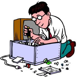 Computer-repair-clipar-school